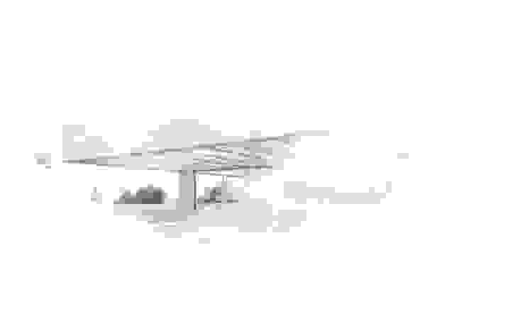 Casa de obra nueva, La Décima Casas estilo moderno: ideas, arquitectura e imágenes de Otto Medem Arquitecto vanguardista en Madrid Moderno