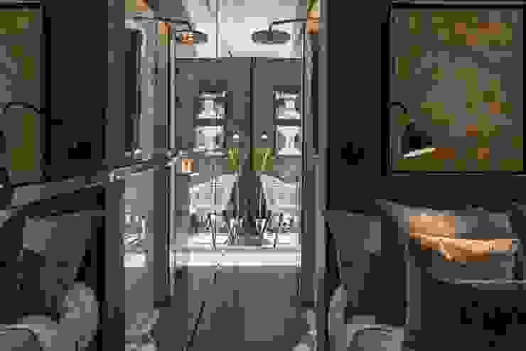 Tiny House Sumatoria Pasillos, vestíbulos y escaleras modernos de SUMATORIA Moderno
