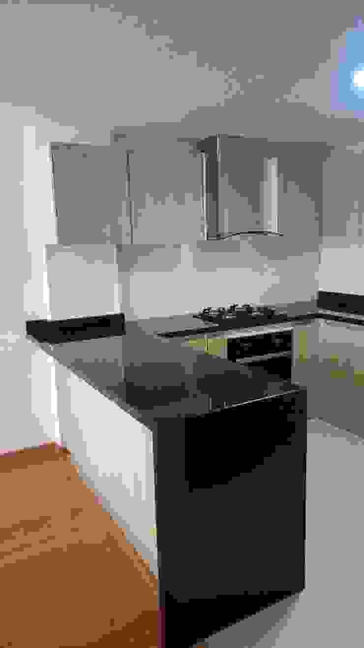 cocina de Madera & Diseño.co Moderno Granito