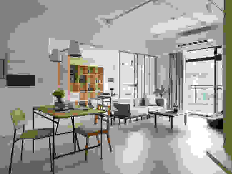 寓子設計 Salones escandinavos