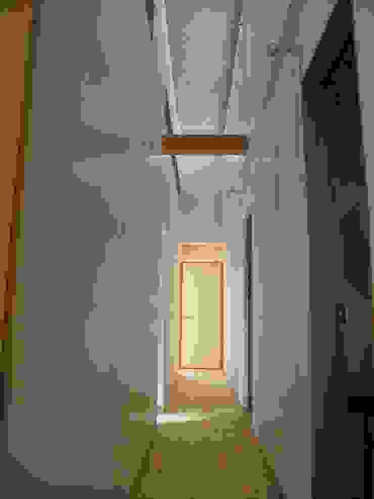 Scandinavian style corridor, hallway& stairs by 株式会社高野設計工房 Scandinavian