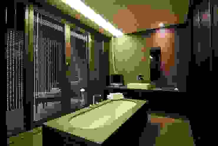 Hotel the mat (호텔 더매트) 미니멀리스트 욕실 by M's plan 엠스플랜 미니멀