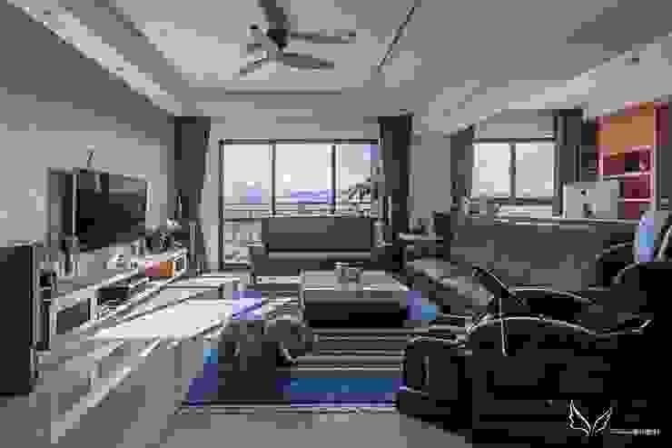客廳 by FEELING室內設計 Scandinavian