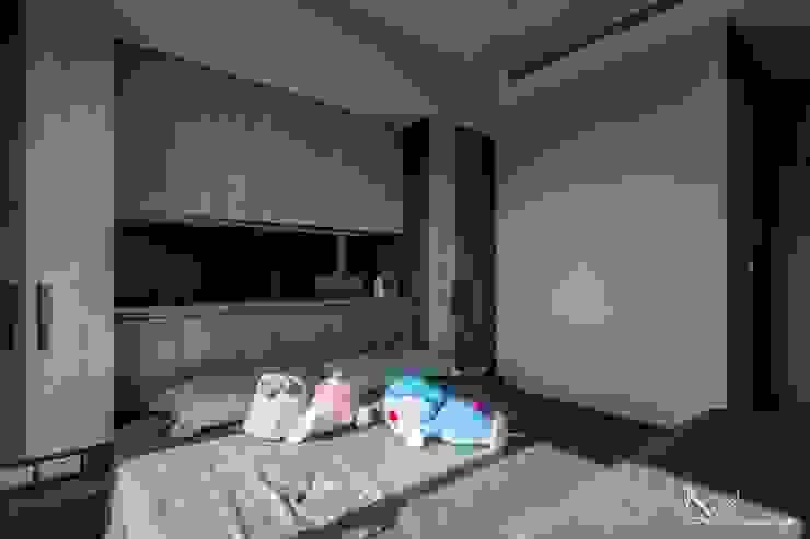 - Scandinavian style bedroom by FEELING室內設計 Scandinavian