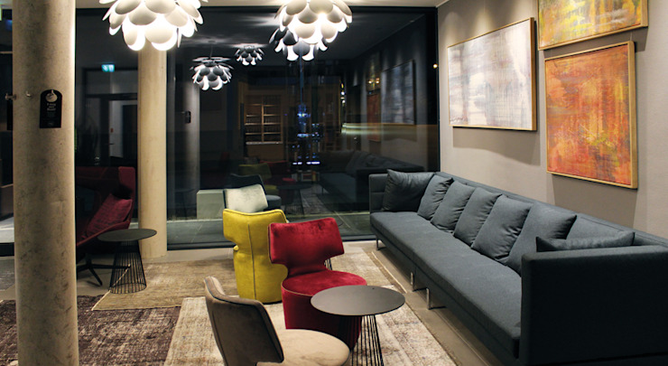 Lichtkonzept Motel Inn in Simbach a. Inn Moderne Hotels von Licht-Design Skapetze GmbH & Co. KG Modern