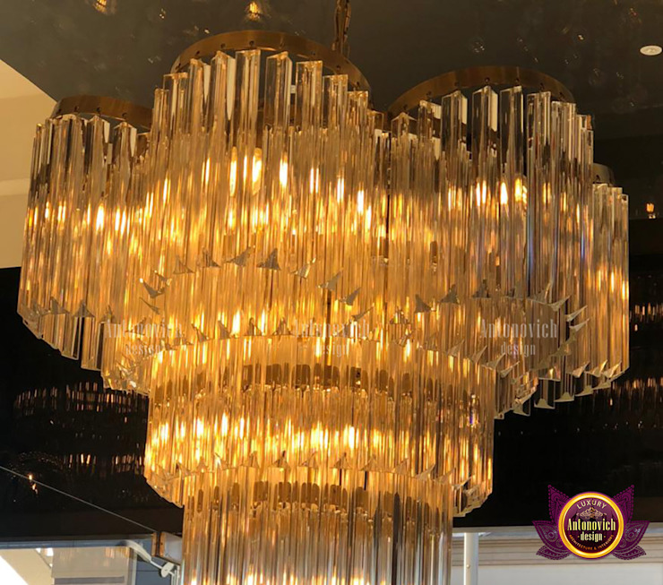 Superb Lighting and Exclusive Home Decor by Luxury Antonovich Design