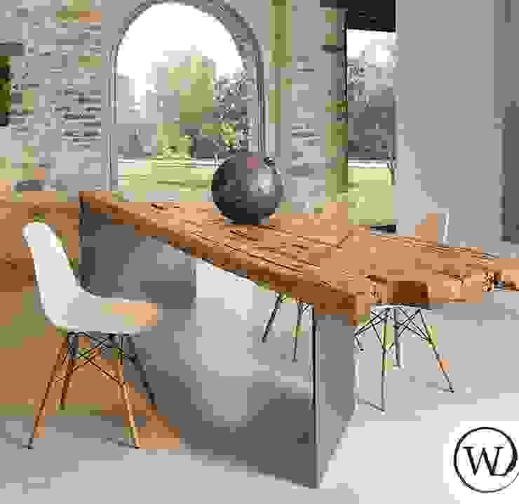Woodland : Sala da pranzo in stile  di Woodland,