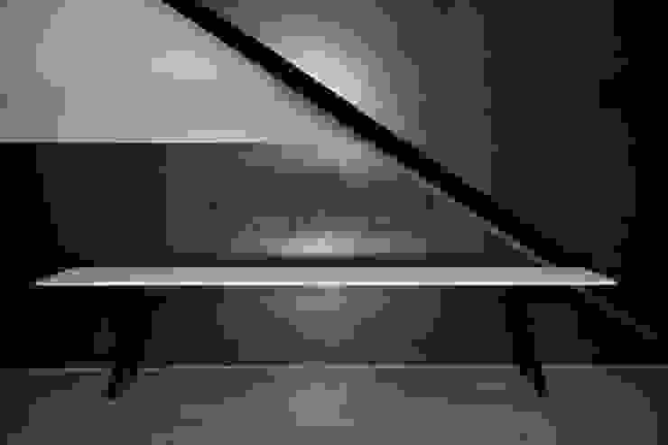 Bank und Tisch klappbar, für innen und außen aus Massivholz und Metall Neuvonfrisch - Möbel und Accessoires Flur, Diele & TreppenhausSitzmöbel Holz