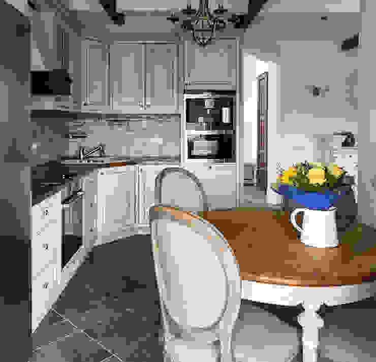 Кухня - квартира на Профсоюзной ZEBRANO - Дизайнерская мебель Кухня в классическом стиле