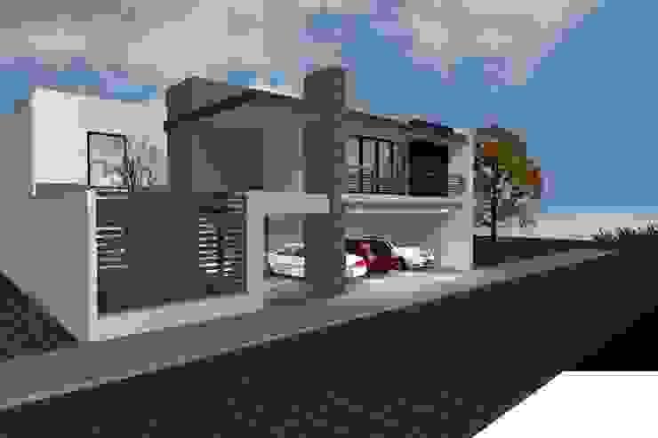 grupo ME Arquitectos Single family home Brown