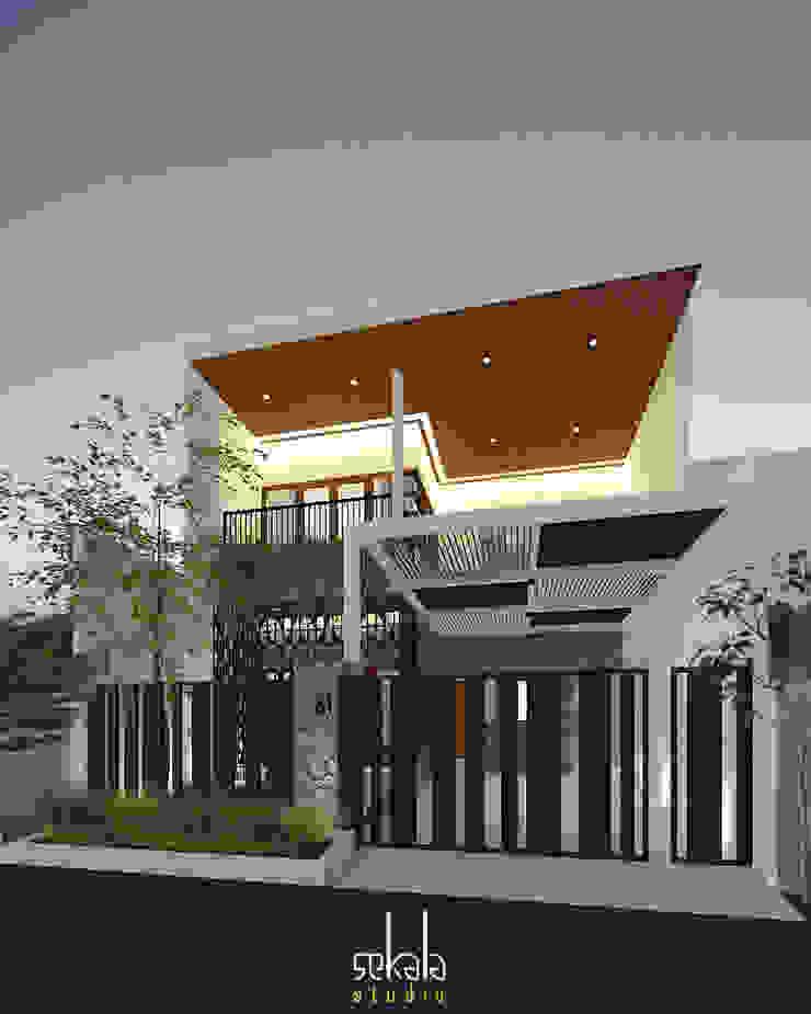 Desain Tampak Depan Oleh SEKALA Studio Modern