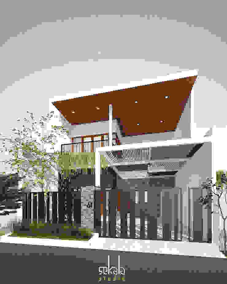 Desain Tampak Depan Rumah Modern Oleh SEKALA Studio Modern