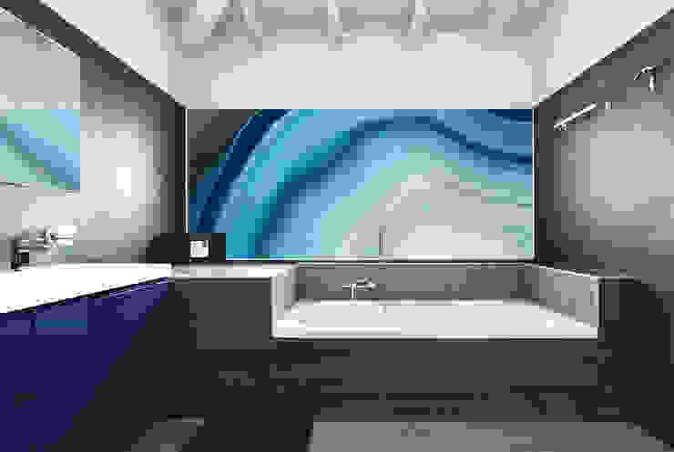 GARGANTUA Decorative Panels Tecnografica Pareti & Pavimenti in stile moderno Blu