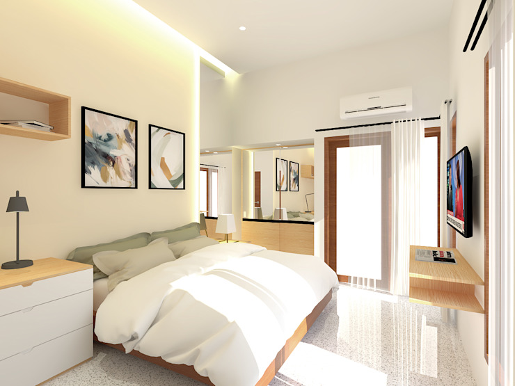 Kids Bedroom Kamar Tidur Modern Oleh SEKALA Studio Modern