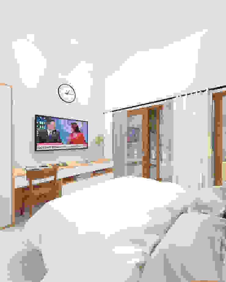 Master Bedroom Kamar Tidur Tropis Oleh SEKALA Studio Tropis