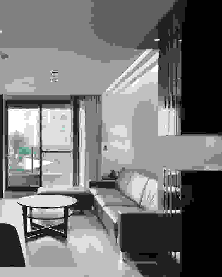 合雄涵悅 现代客厅設計點子、靈感 & 圖片 根據 形構設計 Morpho-Design 現代風