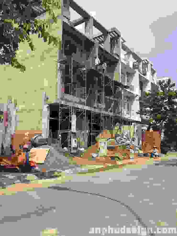 Xây dựng nhà trọn gói chỉ hơn 5 triệu liên hệ ngay Kiến trúc sư: Ngân 0934909023: Châu Á  by Công ty TNHH sửa chữa nhà phố trọn gói An Phú 0911.120.739, Châu Á