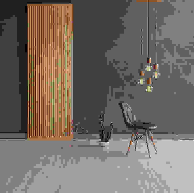 AREA Tecnografica Pareti & Pavimenti in stile moderno Blu