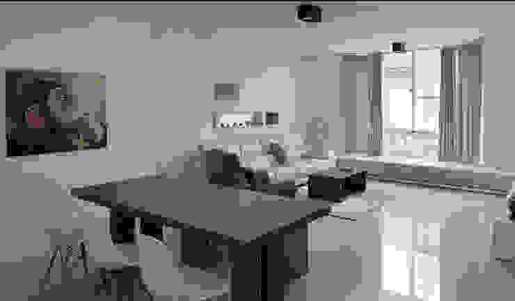 Ruang Keluarga Gaya Country Oleh 形構設計 Morpho-Design Country