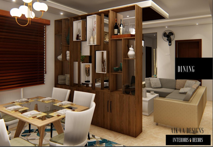 10 Ideas For Creating Partitions Between The Hall And Dining Room Homify Homify