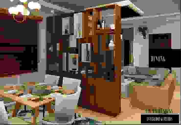 CROCKERY UNIT Modern dining room by Aikaa Designs Modern