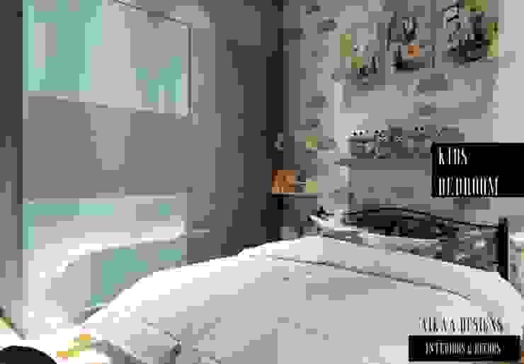 KIDS BEDROOM Aikaa Designs Modern nursery/kids room
