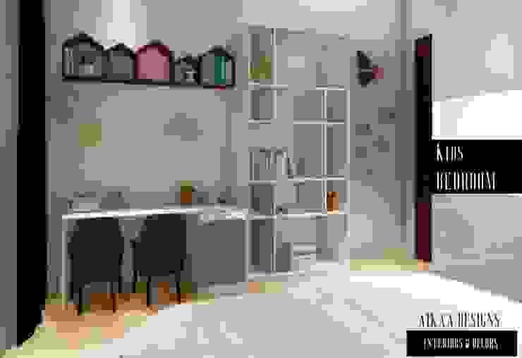 Chambre d'enfant moderne par Aikaa Designs Moderne