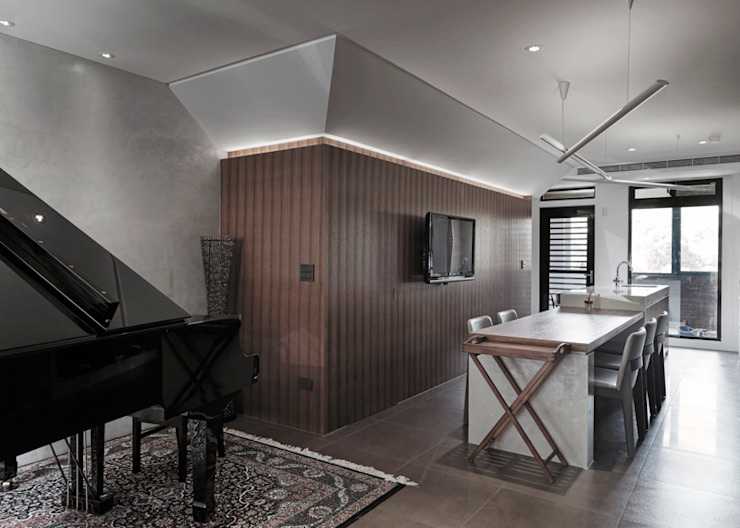 形構設計 Morpho-Design Столовая комната в стиле модерн