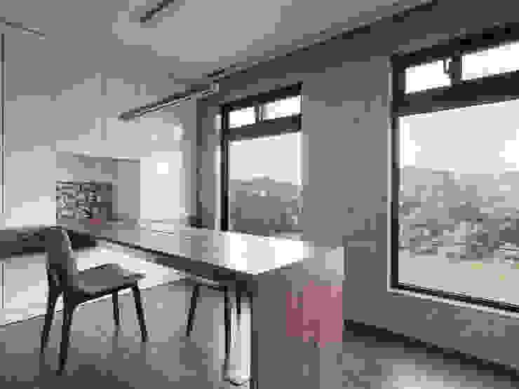 形構設計 Morpho-Design Рабочий кабинет в стиле модерн