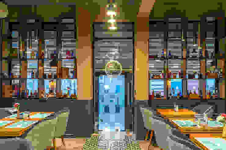 Yedikule Mimarlık – Kafe iç mimari tasarımı:  tarz Yeme & İçme,