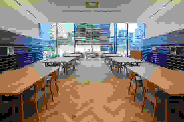 KITZ.CO.LTD 辦公大樓 木頭 Wood effect