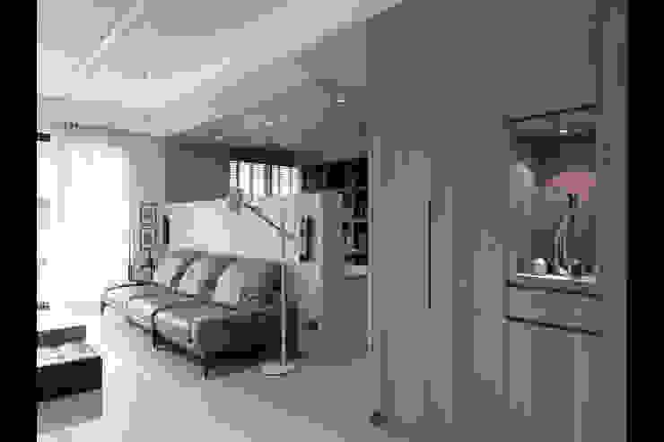 形構設計 Morpho-Design Corredores, halls e escadas modernos