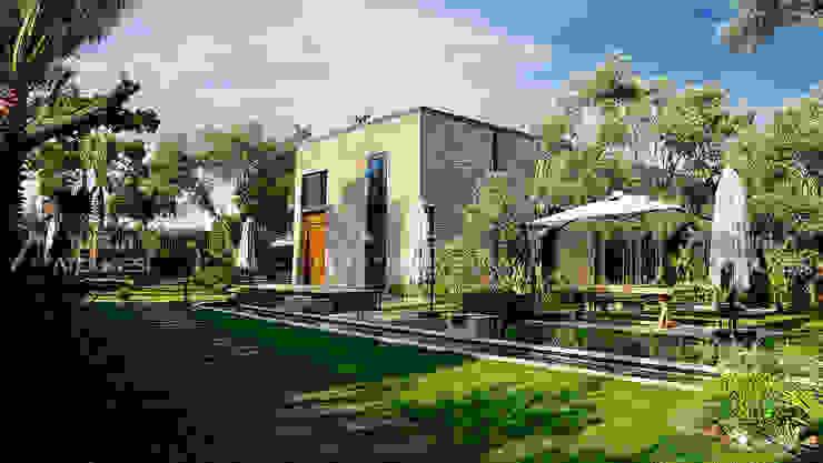 Doğaltaş Atölyesi Rustic style walls & floors Bricks Beige