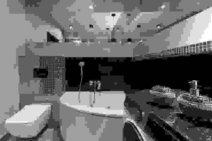 Lux Interiors - projektowanie i aranżacja wnętrz Gdańsk, Gdynia, Sopot Salle de bain moderne