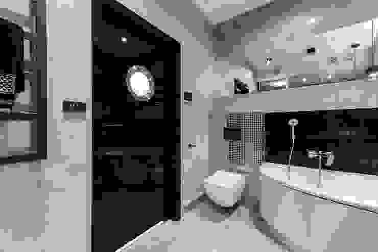 Lux Interiors - projektowanie i aranżacja wnętrz Gdańsk, Gdynia, Sopot Modern style bathrooms