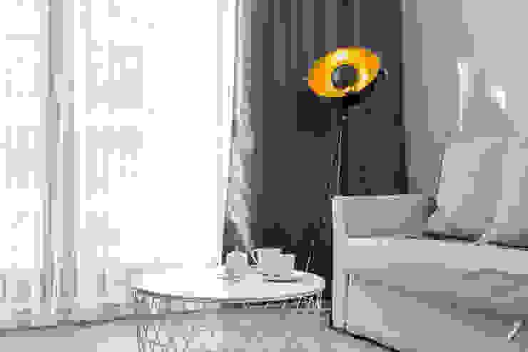 Lux Interiors - projektowanie i aranżacja wnętrz Gdańsk, Gdynia, Sopot Salon moderne