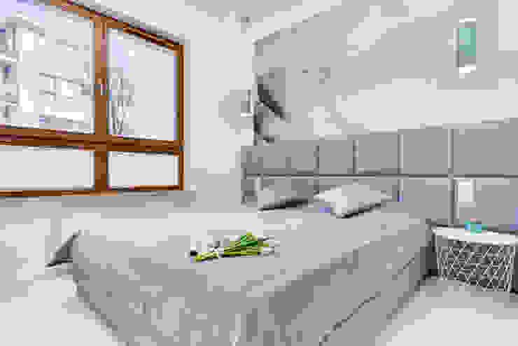 Sypialna od Lux Interiors - projektowanie i aranżacja wnętrz Gdańsk, Gdynia, Sopot Nowoczesny