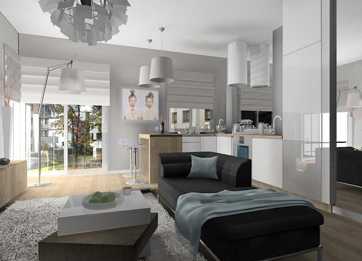Wizualizacje salonów od Lux Interiors - projektowanie i aranżacja wnętrz Gdańsk, Gdynia, Sopot
