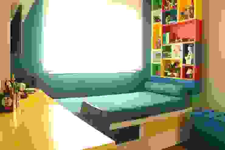Quarto infantil lego por Mari Milani Arquitetura & Interiores Moderno