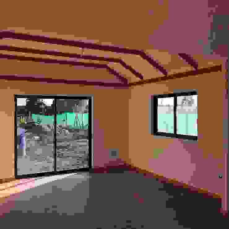 LIVING /COMEDOR Livings de estilo clásico de Estudio Arquitectura y construccion PR/ Remodelaciones y Diseño de interiores / Santiago, Rancagua y Viña del mar Clásico