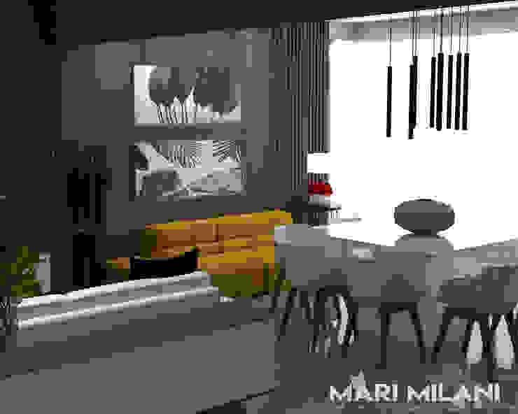 Mari Milani Arquitetura & Interiores 餐廳
