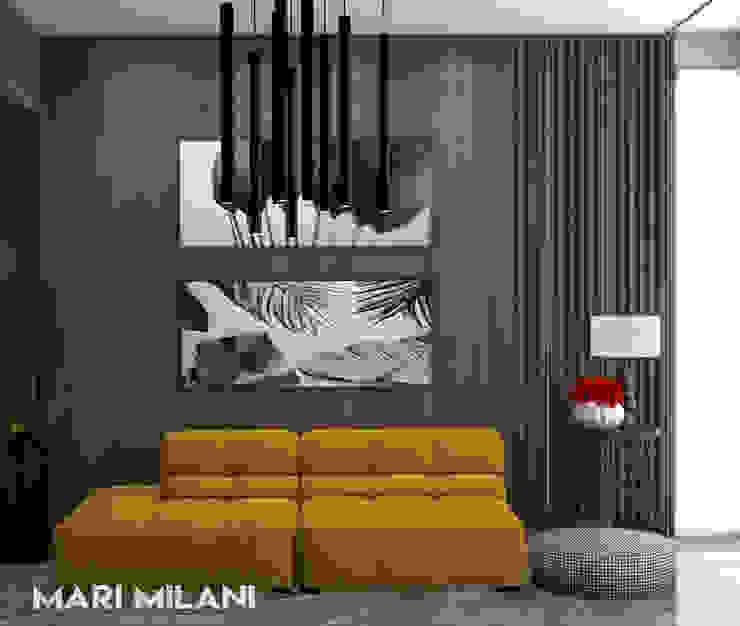 Ponto de cor terraço Mari Milani Arquitetura & Interiores Varandas, alpendres e terraços modernos