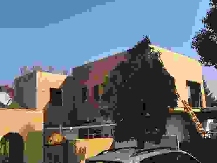 PROCESO DE FORRADO DE FACHADA de Estudio Arquitectura y construccion PR/ Remodelaciones y Diseño de interiores / Santiago, Rancagua y Viña del mar Mediterráneo
