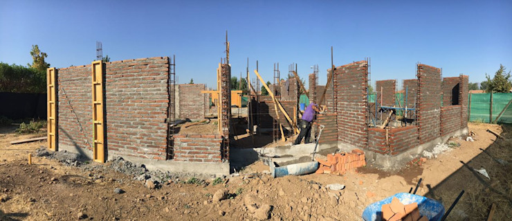 PROCESO DE CONSTRUCCION de Estudio Arquitectura y construccion PR/ Remodelaciones y Diseño de interiores / Santiago, Rancagua y Viña del mar Colonial
