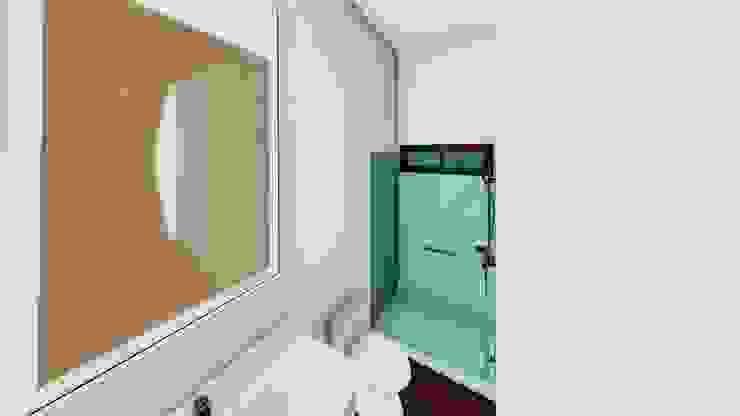 Baño Baños modernos de Arq. Bruno Agüero Moderno