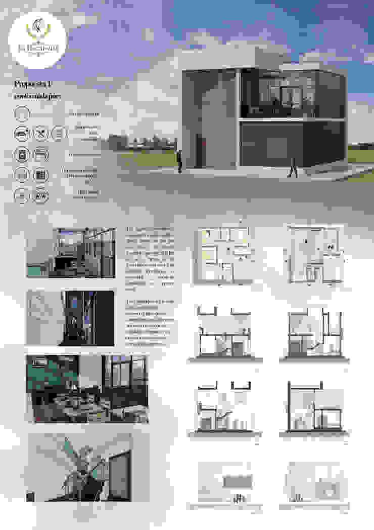 Panel de presentación Anexos de estilo moderno de Arq. Bruno Agüero Moderno