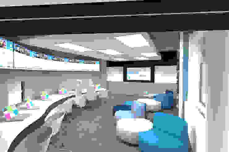 Redesign-Nestlè-Waters-US-1: Complessi per uffici in stile  di MARIA QUATTRINA,