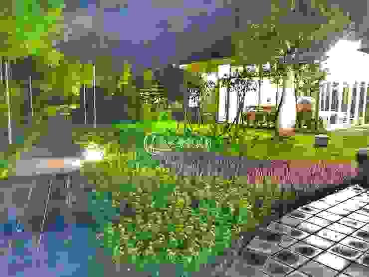 都市中的小秘境 瀧禾實業有限公司 Garden Pond Granite Green