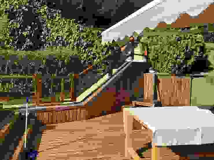 Hazine Dekorasyon – Beykoz Konakları Bahçe Mobilya : modern tarz , Modern Ahşap Ahşap rengi