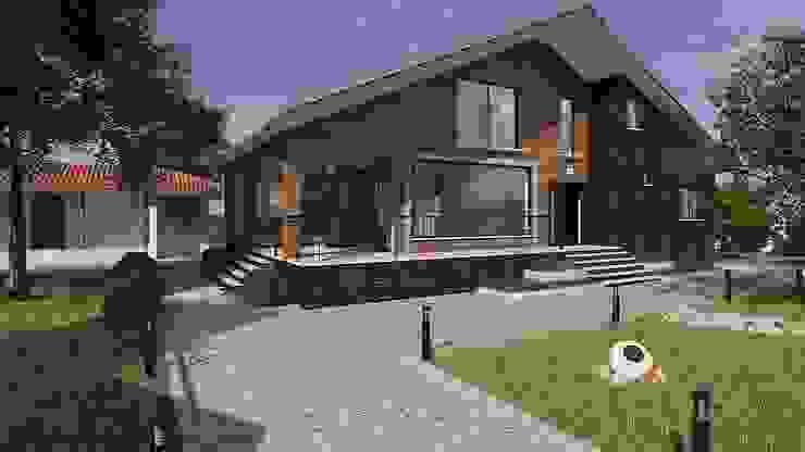 VİLLA GÖLBAŞI Modern Evler ARTERA İÇ MİMARLIK VE MİMARLIK Modern